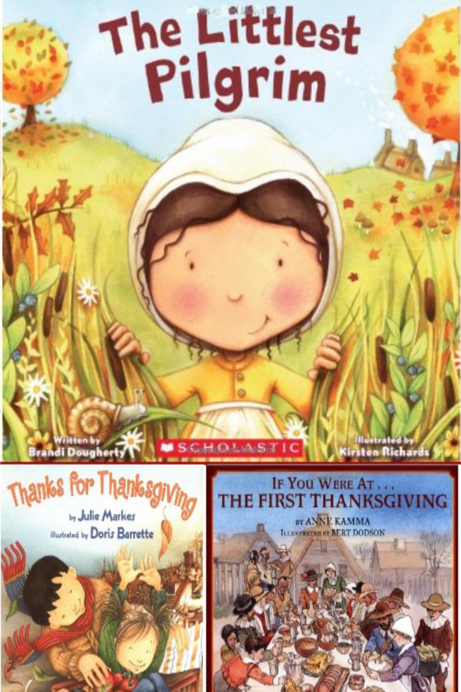8 {Great} Books about the Thanksgiving Story