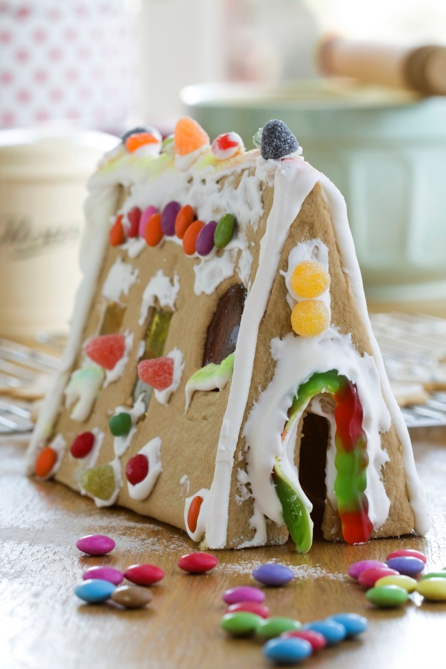 Best Gingerbread House Glue - Graham Cracker