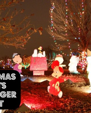 Printable Christmas Game - Go on a holiday lights scavenger hunt