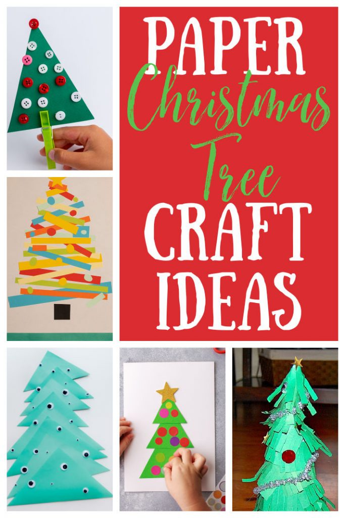 Paper Christmas Tree Craft Ideas for Kids - Kids Activities Blog