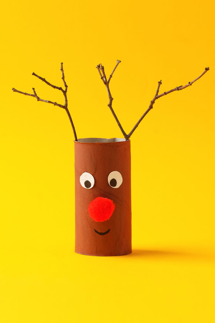 3 Ways to Make an Easy & Adorable Toilet Paper Roll Reindeer