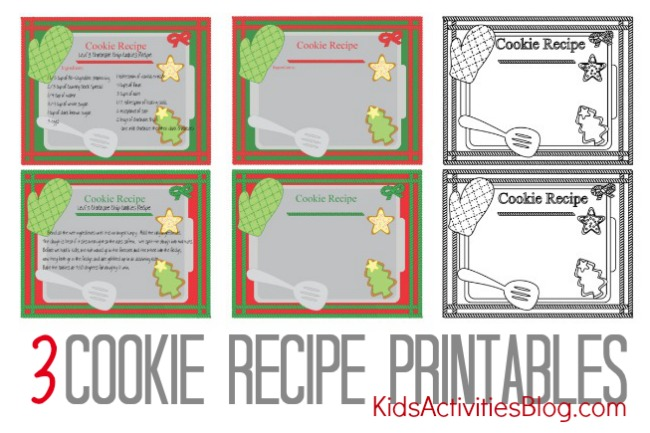 recipe chocolate chip cookie printable