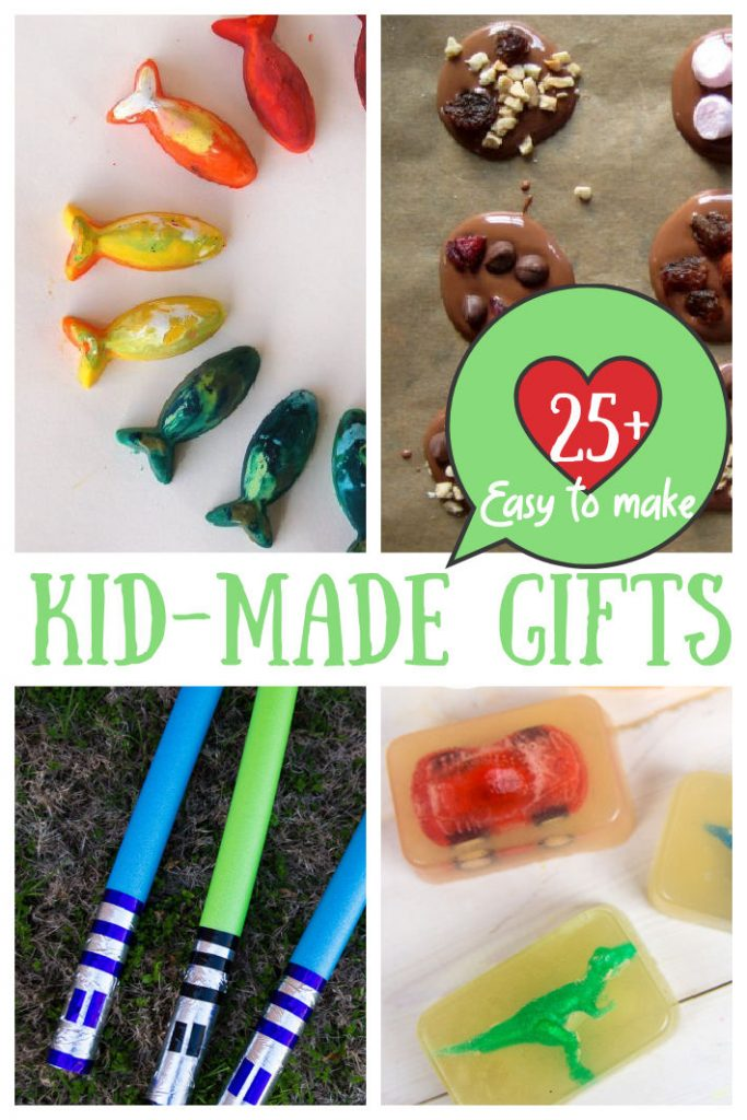 Kid Made Gift Ideas that Kids Can Actually Make