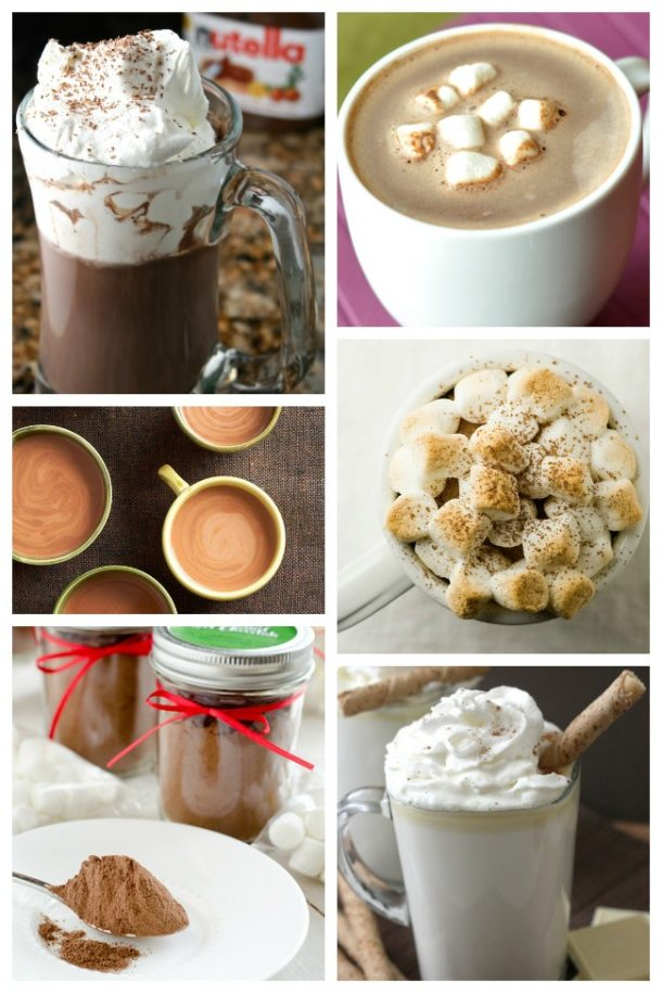 20 Festive and Easy Hot Chocolate Recipes