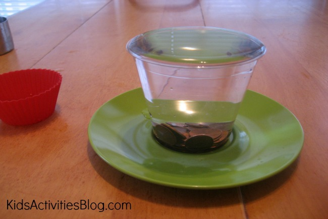 {Kid Science} Water Experiment: Displacement
