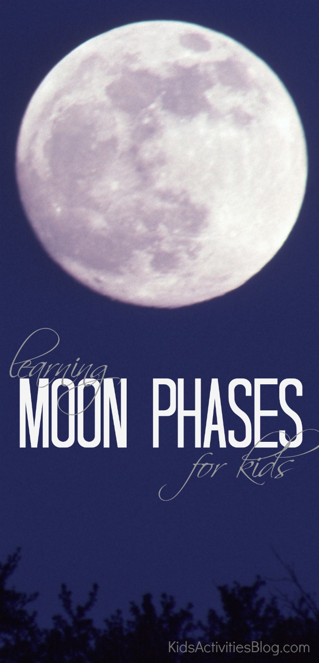 moon phases for kids