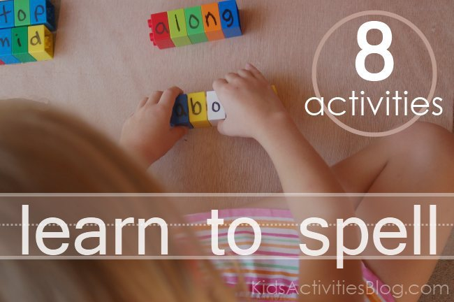 Help me spell!! Activities to Teach Kids How To Spell