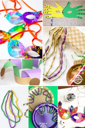 Mardi Gras Crafts for Kids from Kids Activities Blog