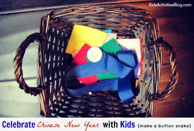{Colorful & Easy} Chinese New Year Activity for Kids