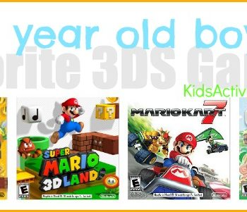 favorite video games for 3DS