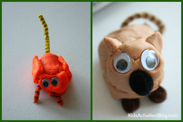 Fun playdough project for kids and adults!
