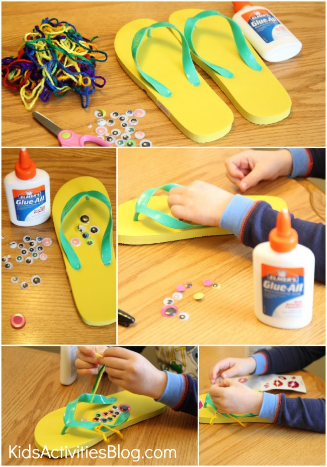 Flip Flop Instructions Collage