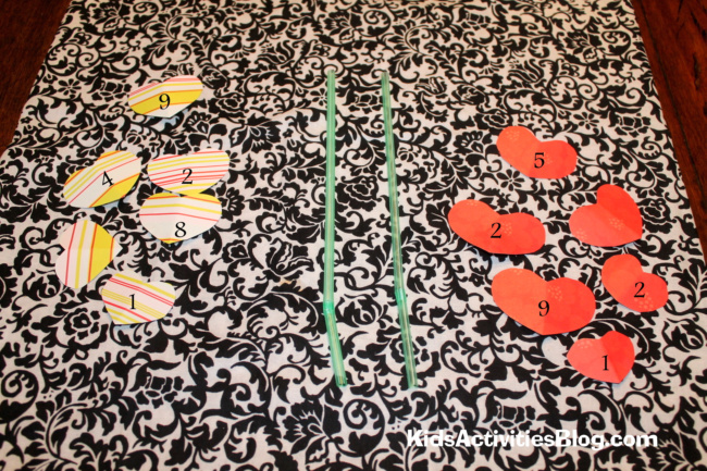 Kids can have fun with math with this cool math race