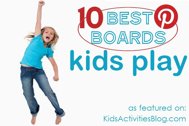 10 Best Boards on Pinterest for PLay