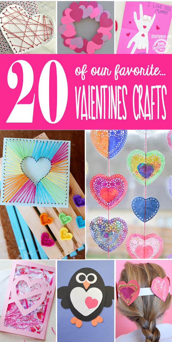 20 of Our Favorite Valentine's Day Crafts