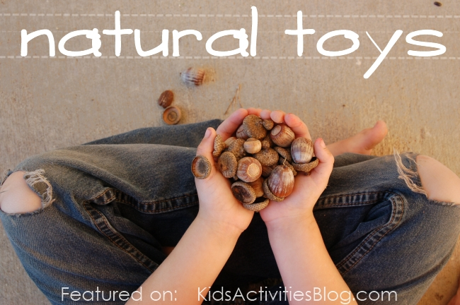 nature education - natural toys... sometimes simple is better!