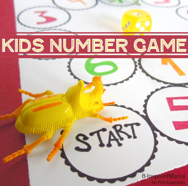 counting game for learning numbers