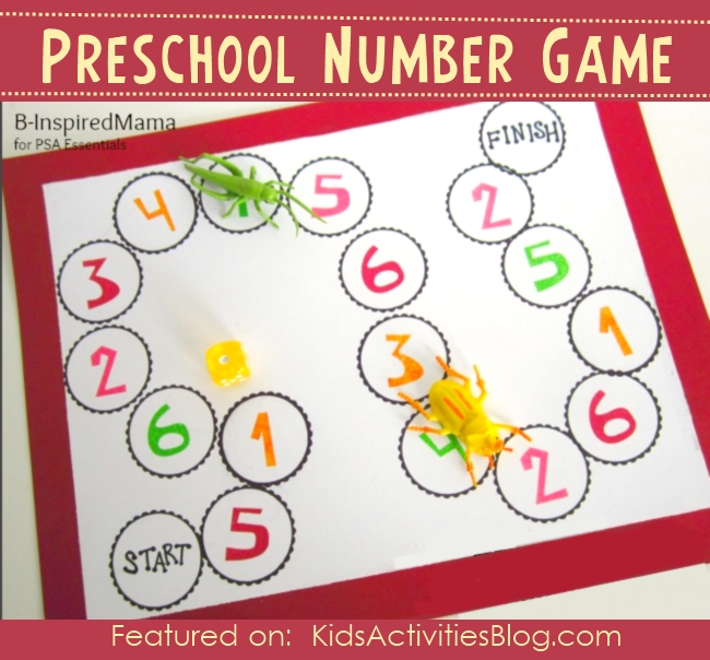 learning numbers with counting game