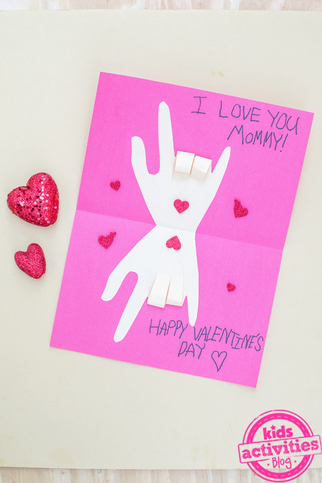 DIY Sign Language Valentine's Day Cards To Show Love