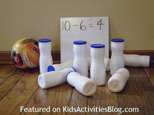 Bowling Game, Number Concepts