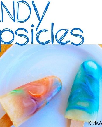 Candy surprise popsicle ice pops