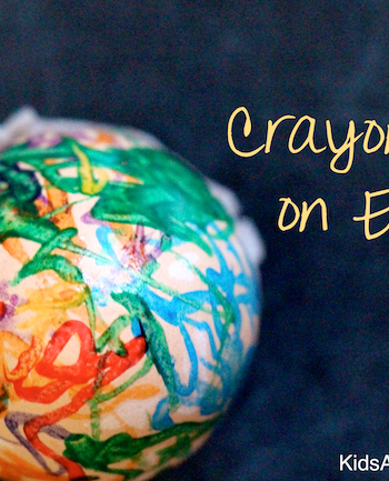 Egg Craft: Beautiful Melted Crayon {Crayon Art}