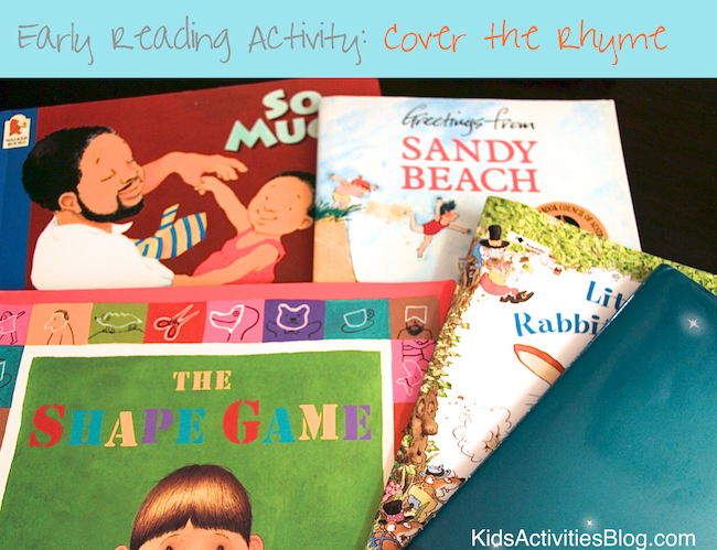 Rhyming Words Game with Picture Books for Kids