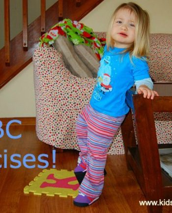 Fun Physical Fitness for Kids {Alphabet Exercises}