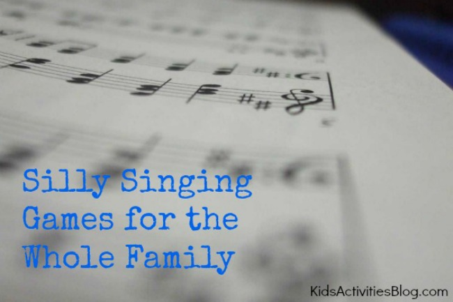Funny Games: Silly Songs Family Game {For All Ages}