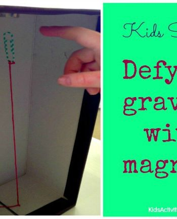 Kids Science: Defying Gravity {Cool Gravity Trick}