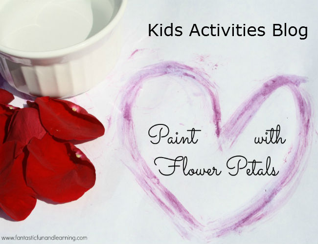 Kids Painting Flower Activity
