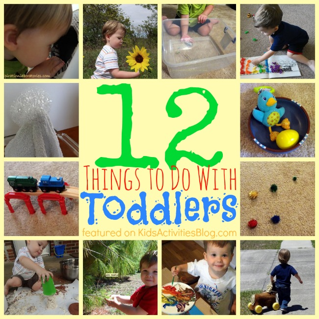 Things to do with toddlers