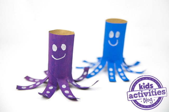 Toilet Paper Roll Octopus 1