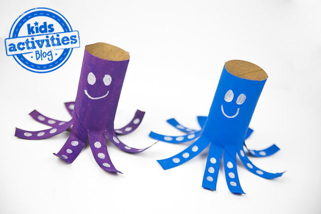 Toilet Paper Roll Octopus 2