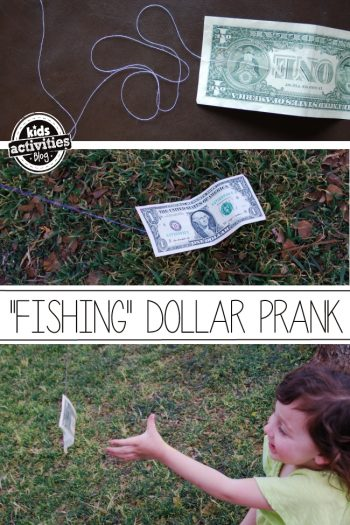 Dollar prank for kids