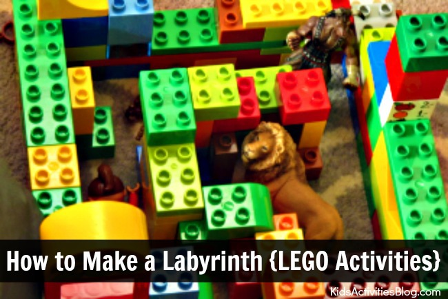 The Greek Labyrinth: How to Make a Labyrinth {LEGO Activities}