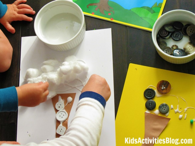 Change of Seasons Activity for Kids {Based on The Seasons of Arnold's Apple Tree by Gail Gibbons}
