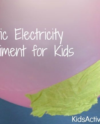 Static Electricity Science Experiment for Kids