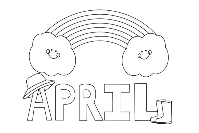 cool April Fools Day Coloring Pages Free | Free coloring pages for ... | 434x650