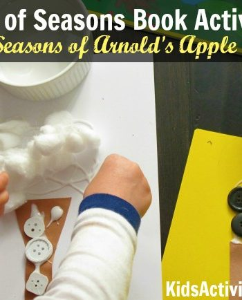 Change of Seasons Book Activity for The Seasons of Arnold's Apple Tree