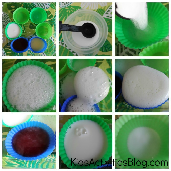 Kids love this baking soda experiment {Chemical reactions for kids}