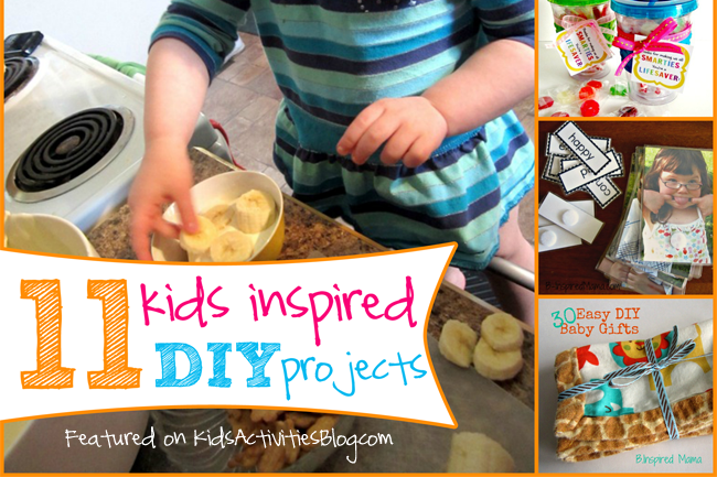 11 Kid Inspired DIY Projects for Kids