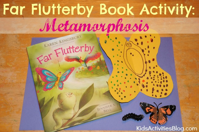 Far Flutterby {Karen Kingbury} Book Activity: Metamorphosis