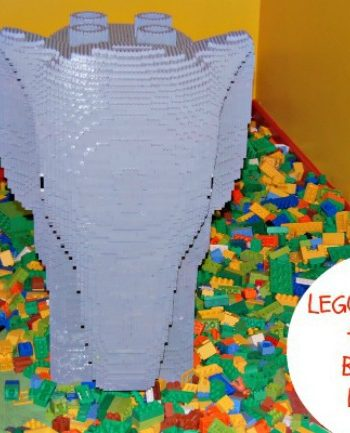LEGO Activities: Shape activities, counting activities and color activities {for a young child}