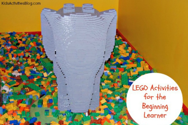 7 LEGO Activities for the Young Child {Color Activities and More}