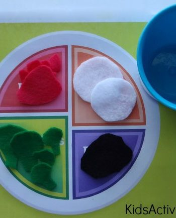 My Plate {Healthy Eating for Kids}
