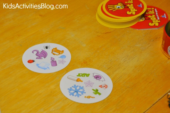 Spot It! is a great game for kids and adults {Family game}