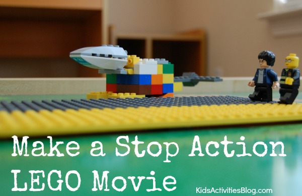 Kids can learn movie making with Stop Action movies {with LEGOs}