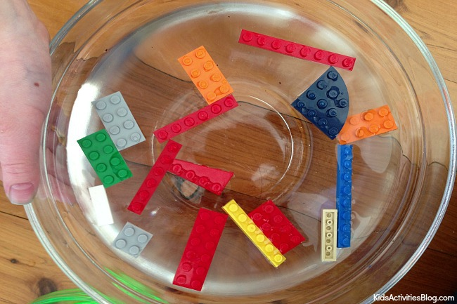 Surface tension for preschoolers