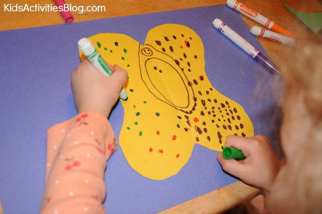 Butterfly metamorphosis: Far Flutterby Book Activity for Kids